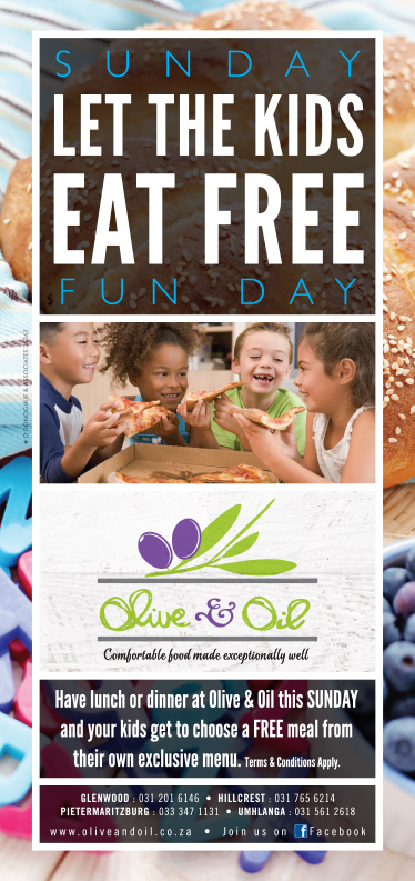 Olive & Oil Sunday Kids Fun Day Special